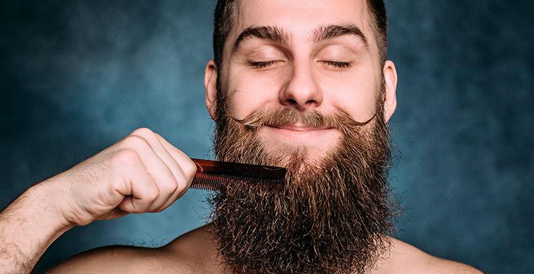 борода борется с микробами