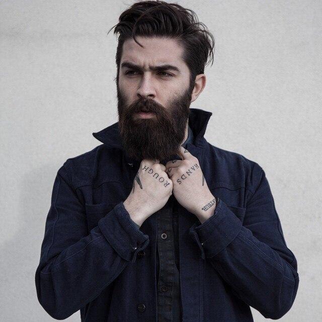 как нарастить себе бороду