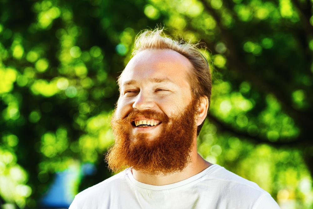 почему растет рыжая борода