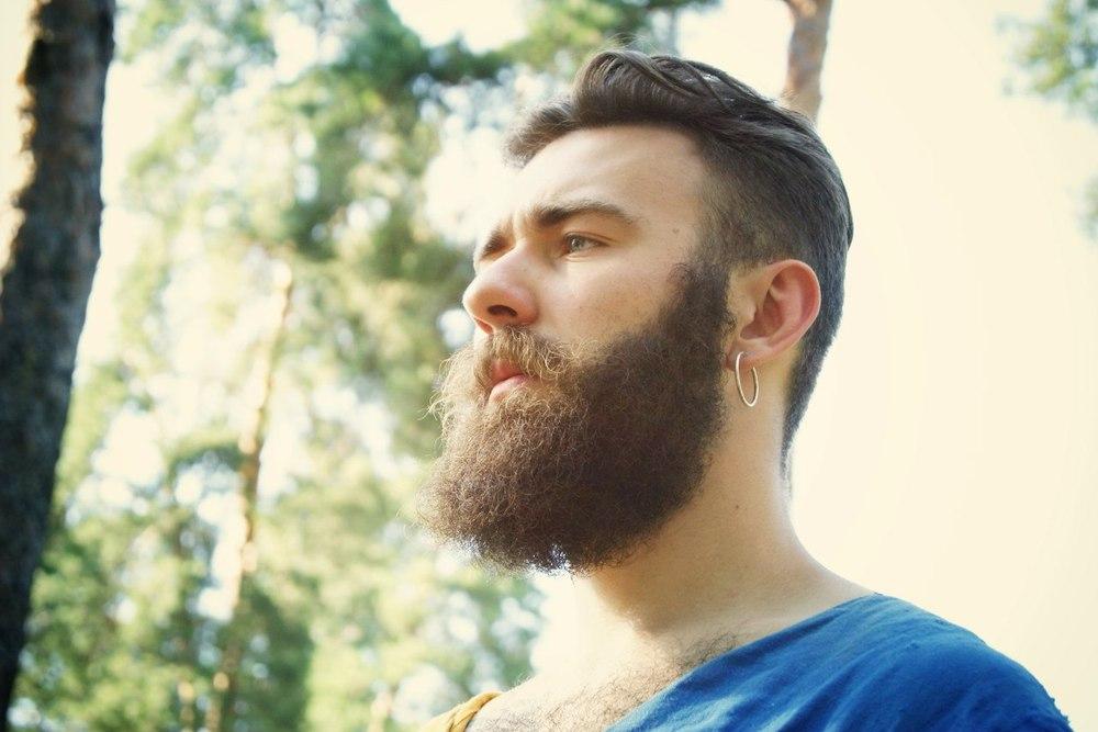 как изменить направление роста волос бороды