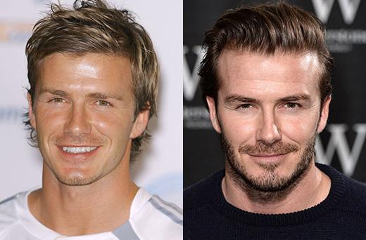 Звездные бородачи-до и после