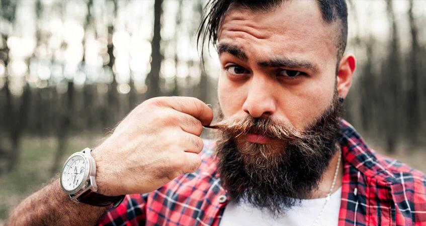 Красивые усы и борода