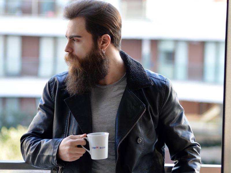 как активировать рост бороды