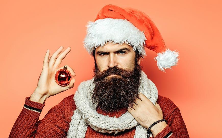 Подарок для бородача-свитер
