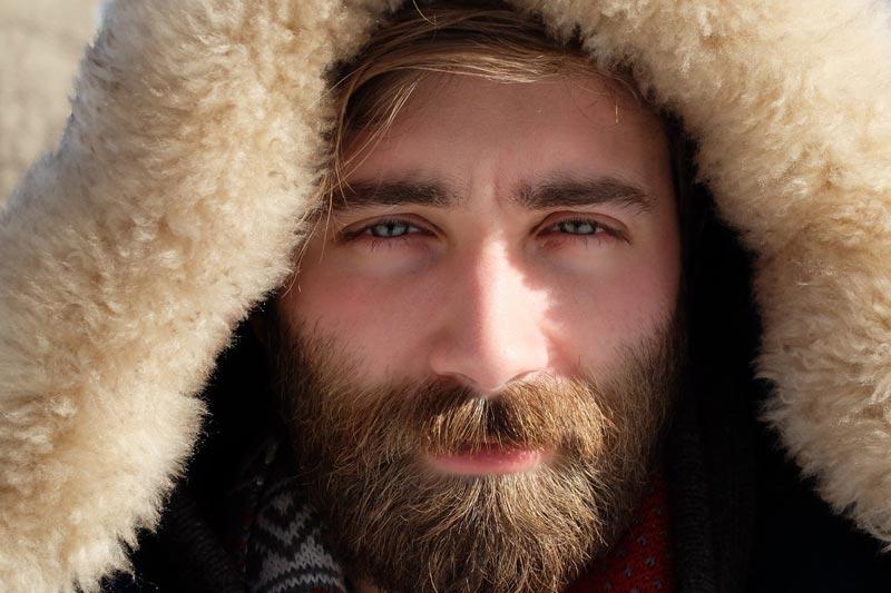 Зачем отращивать бороду - для тепла