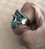 Кольцо в подарок бородачу
