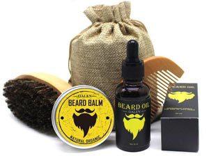 Комплект для бороды из 4 предметов